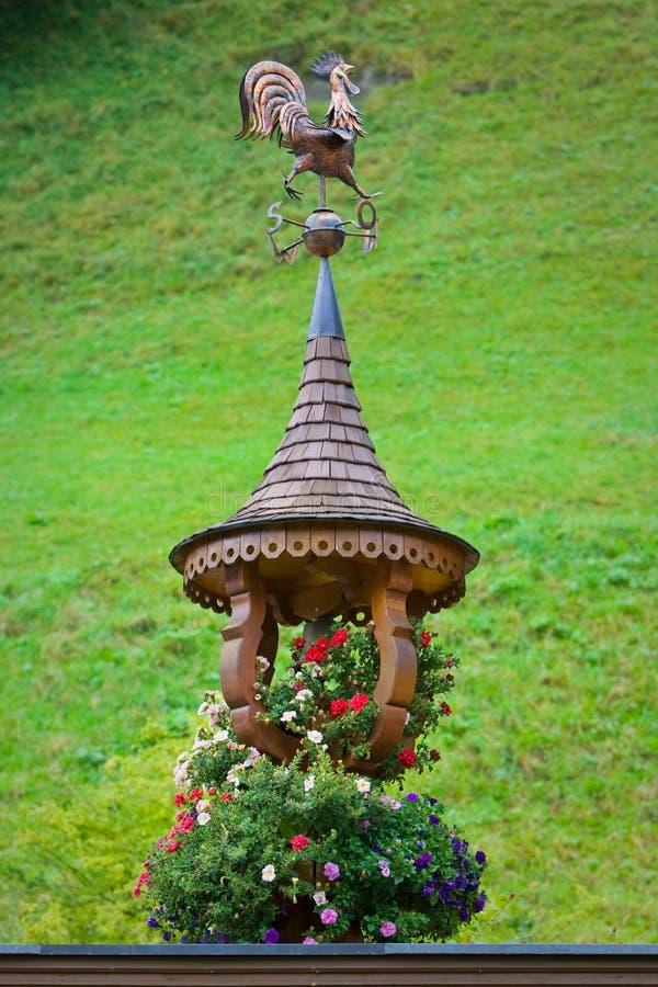 weathercock стоковая фотография rf