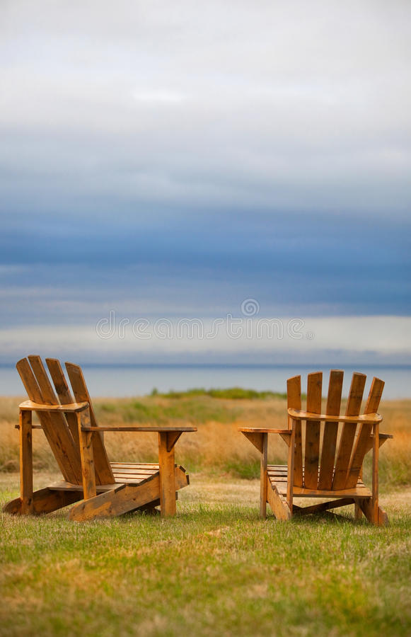 Download Weathered Adirondack Chairs Stock Images - Image: 20738544