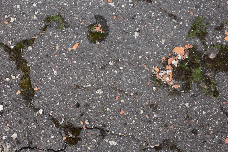 Weathered asphalt texture royalty free stock photos