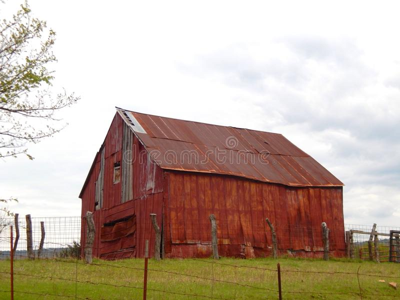 Weathered Barn royalty free stock images