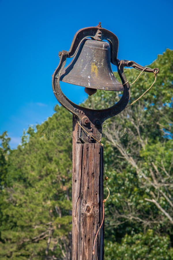 Weathered Bell royalty free stock photography