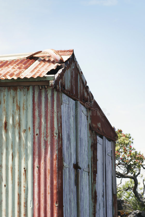 Free Weathered Boat Shed Royalty Free Stock Image - 1955036