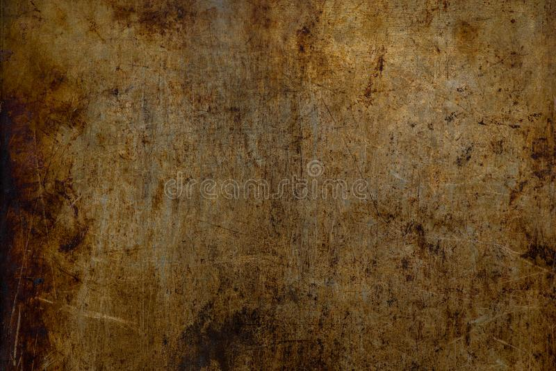 Weathered grungy industrial metal texture stock image