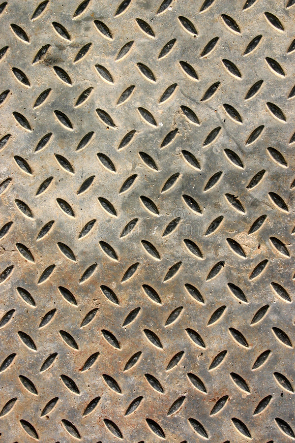 Download Weathered Metal Floor Cover Stock Image - Image: 1415309
