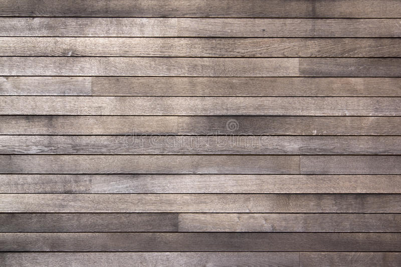 Weathered Old Dark Wooden Boards Background Royalty Free