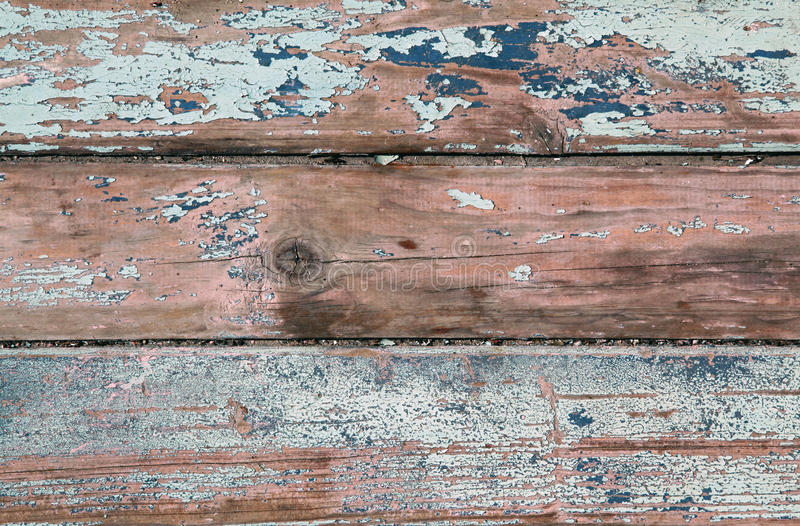 Weathered old wood natural blue turquoise white pa stock photo