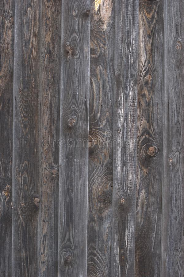 Grayed Weathered Cedar Fencing Stock Image Image Of