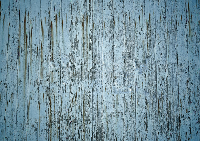 A weathered peeling paint board stock photo