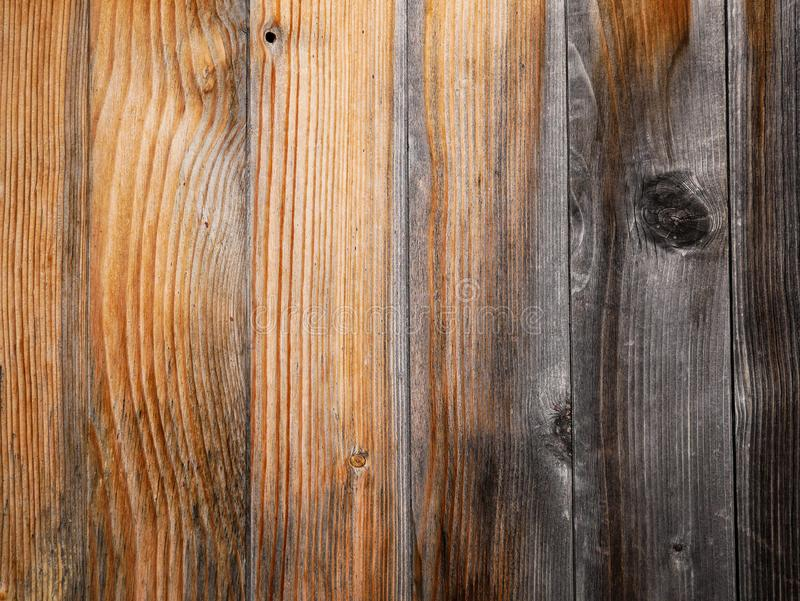 Weathered pine boards close up shot on natural light royalty free stock photos