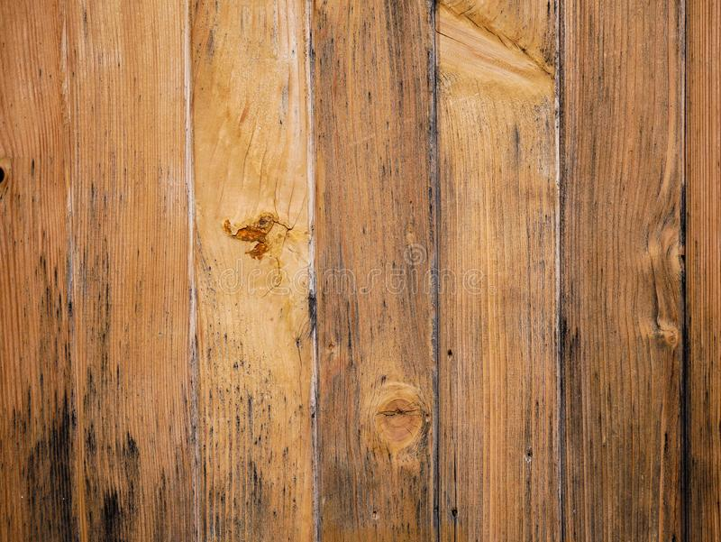 Weathered pine boards close up shot on natural light royalty free stock images