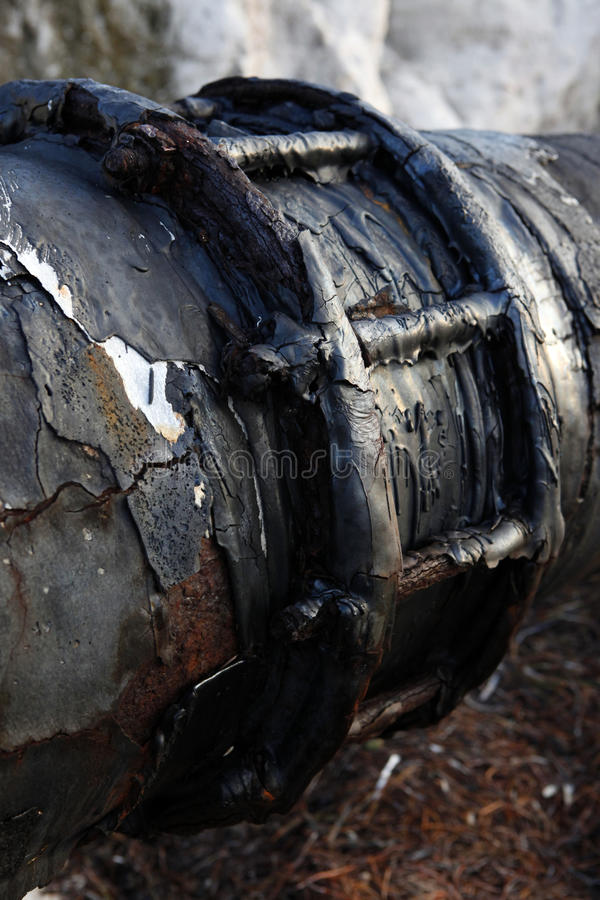 Download Weathered pipe stock image. Image of abstract, closeup - 16798395