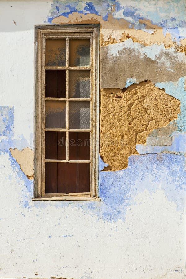 Weathered a plâtré le mur images libres de droits