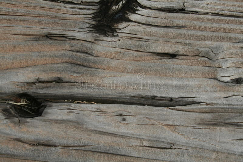 Weathered railroad tie, close up stock images