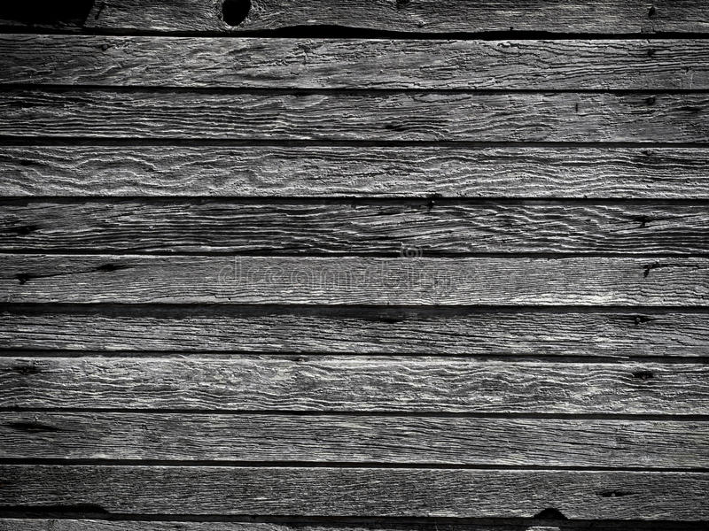 Weathered Wall Boards Stock Photo