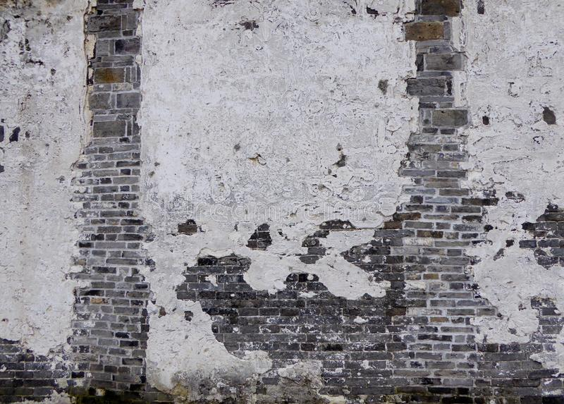 A weathered wall royalty free stock photo