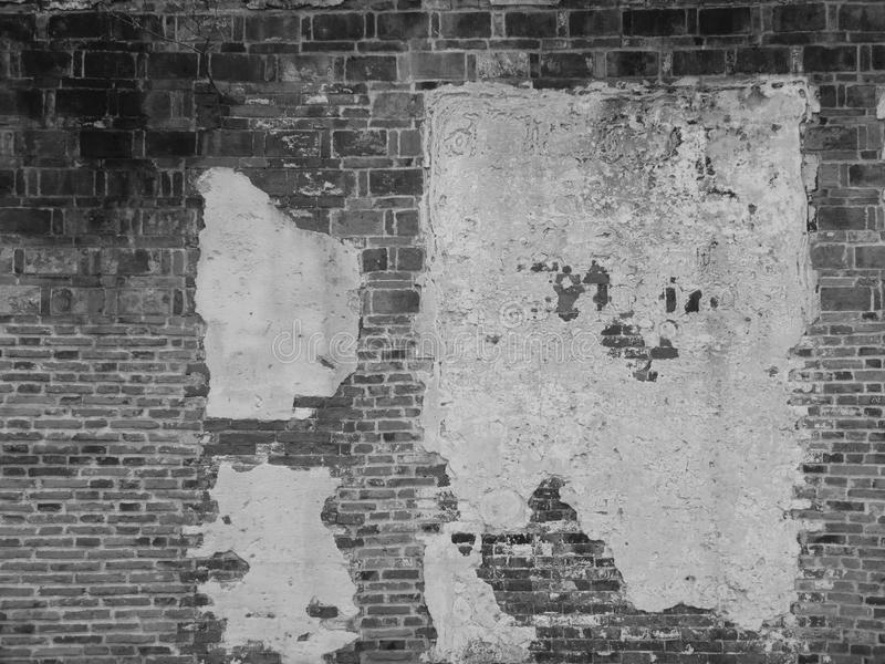 A weathered wall royalty free stock photos