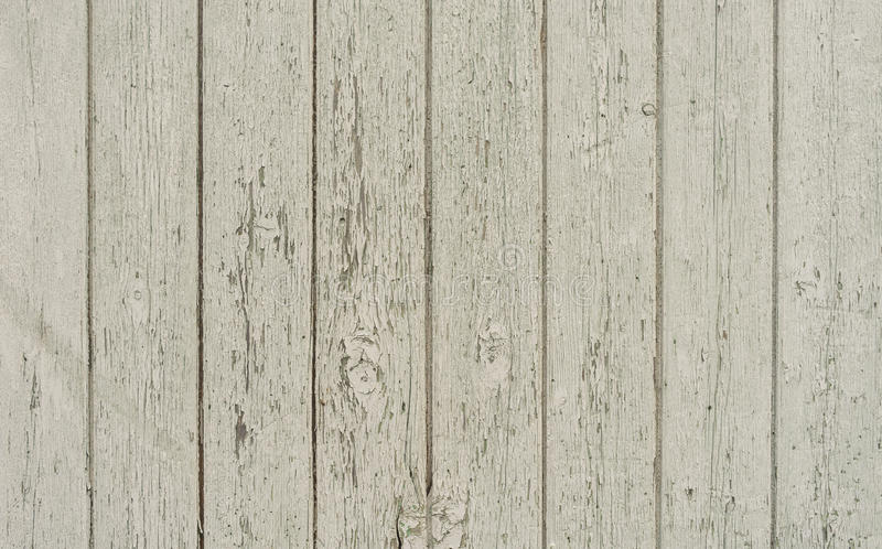 Weathered white wood wall stock photo