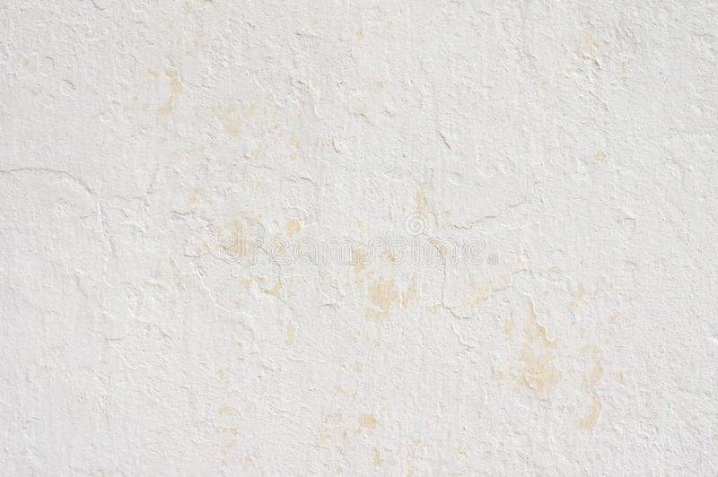Weathered whitewashed wall royalty free stock images