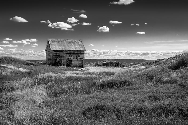 weathered by the wind & salt water, old family residence of a fishing family royalty free stock images