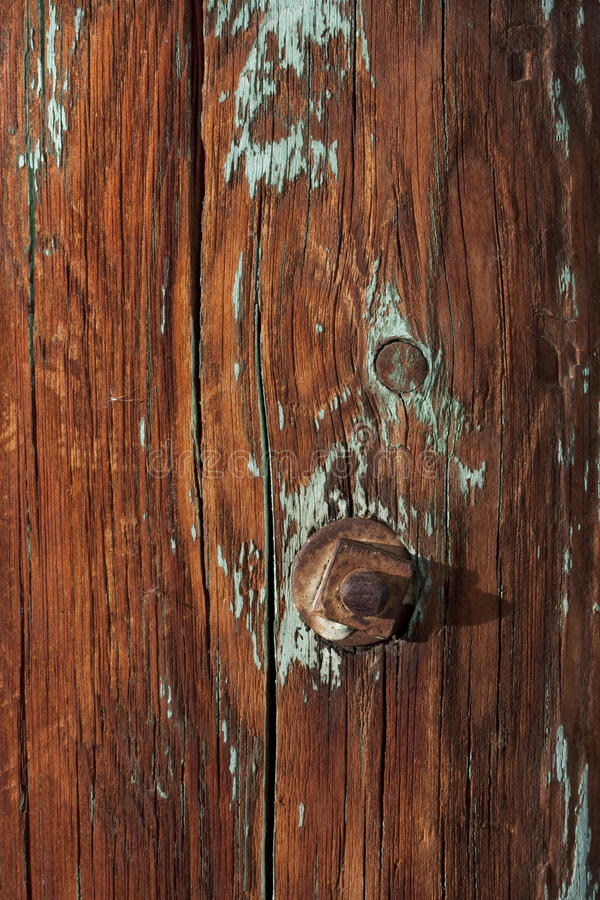 Download Weathered Wood Of Old Barn Post Stock Photo - Image: 11434622