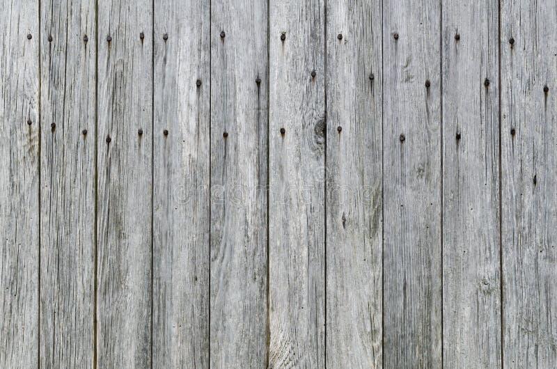 Weathered Wood Plank Barn Siding Background Royalty Free