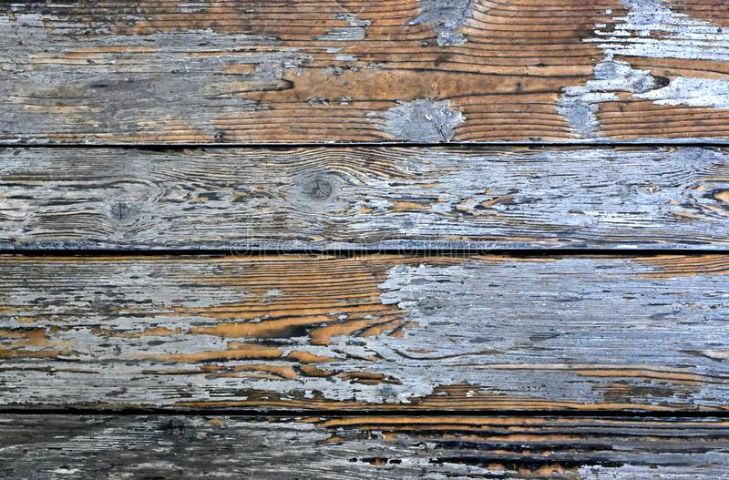 Weathered wood texture or wooden planks royalty free stock photo