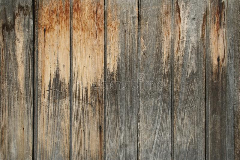 Weathered Wood Wall Texture. Old Weathered Wood Wall Texture stock images