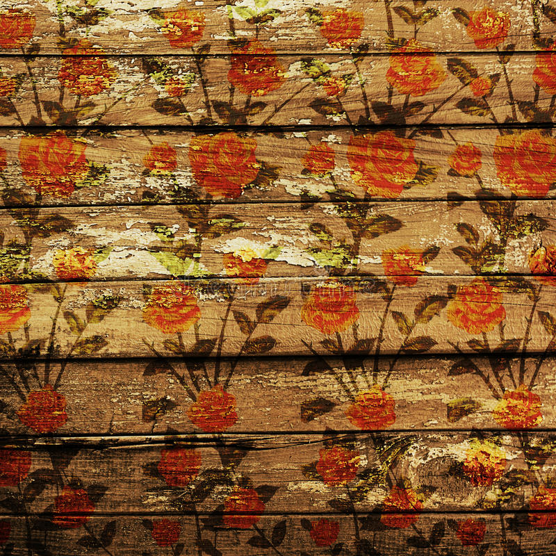 Download Weathered wooden planks stock illustration. Image of exterior - 14283046
