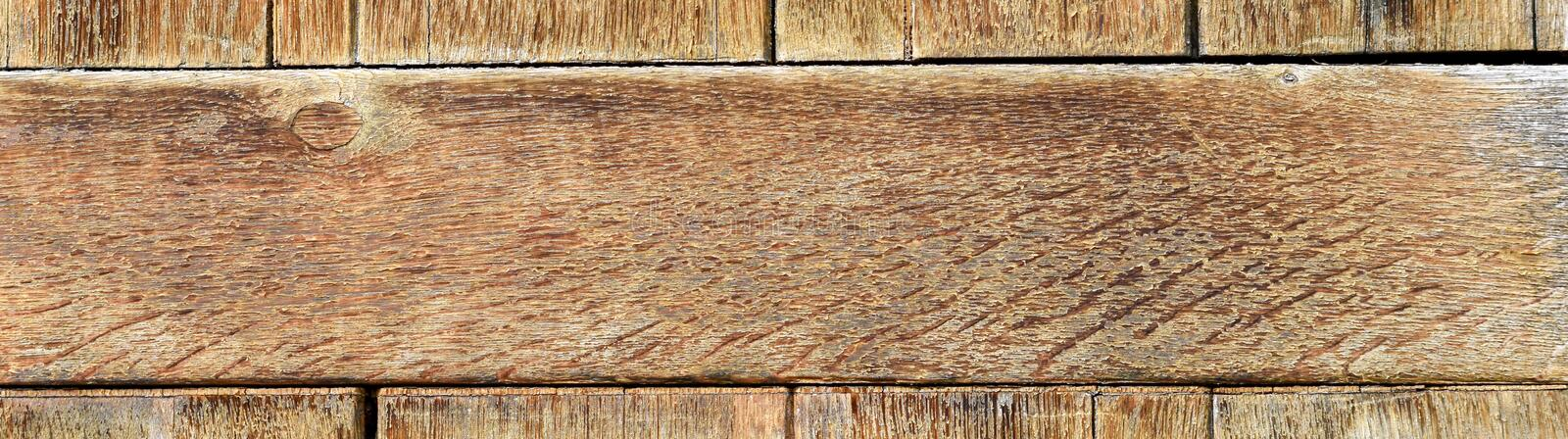 Weathered wooden texture for interior or exterior design solutions. Weathered wooden wall texture for industrial interior or exterior design solutions royalty free stock image