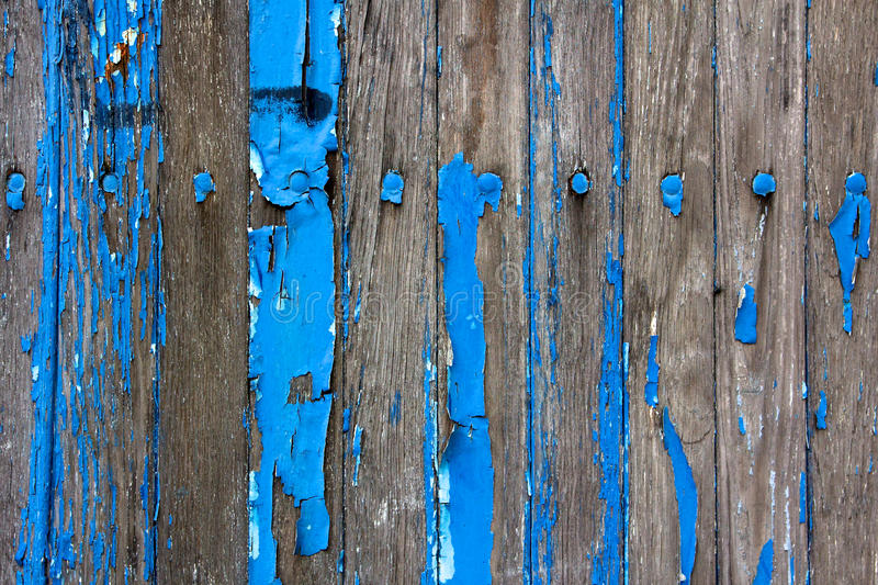 Download Weathered Wooden Wall With Flaking Blue Paint Stock Photo - Image of texture, worn: 25514680