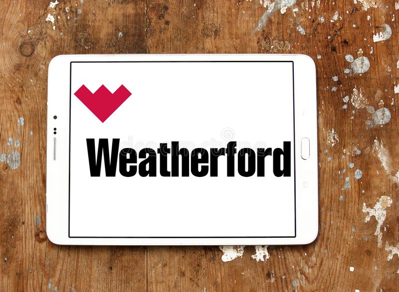 Weatherford International logo royalty free stock photography