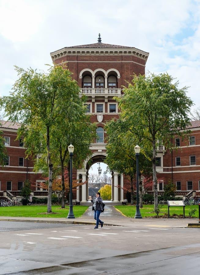 Weatherford Pasillo, universidad de estado de Oregon, Corvallis, Oregon foto de archivo libre de regalías