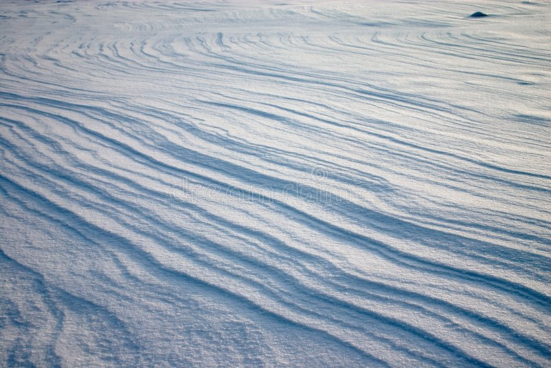 Download Weathering On The Snow Plain Stock Photo - Image of parallel, curves: 1653566