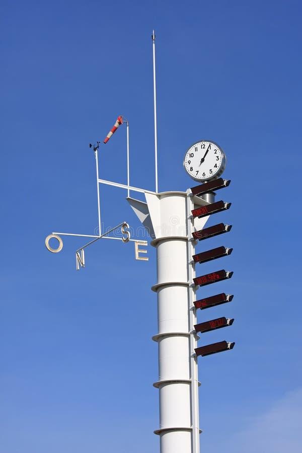 weatherstation arkivbilder