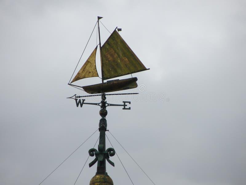 Weathervane de bateau image libre de droits