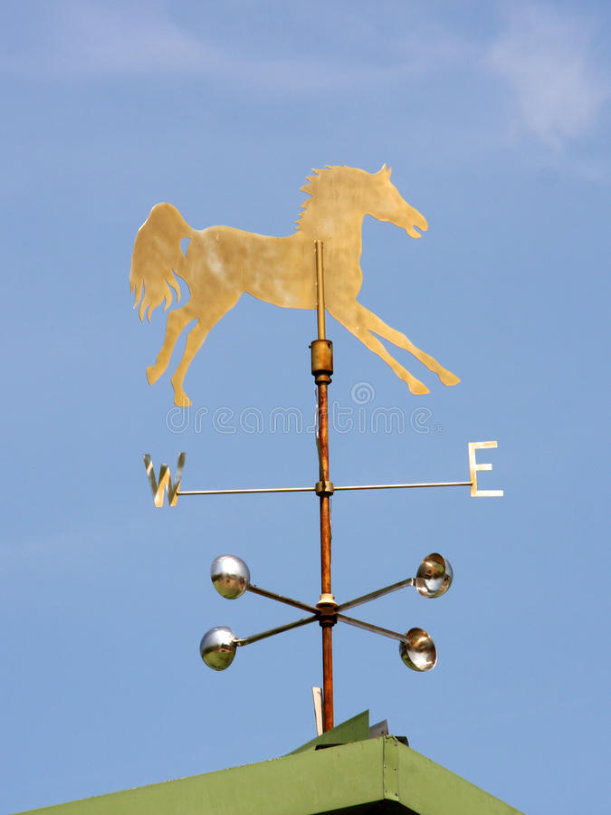 Weathervane de cheval photos stock