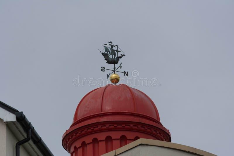 Weathervane Galleon стоковые фотографии rf