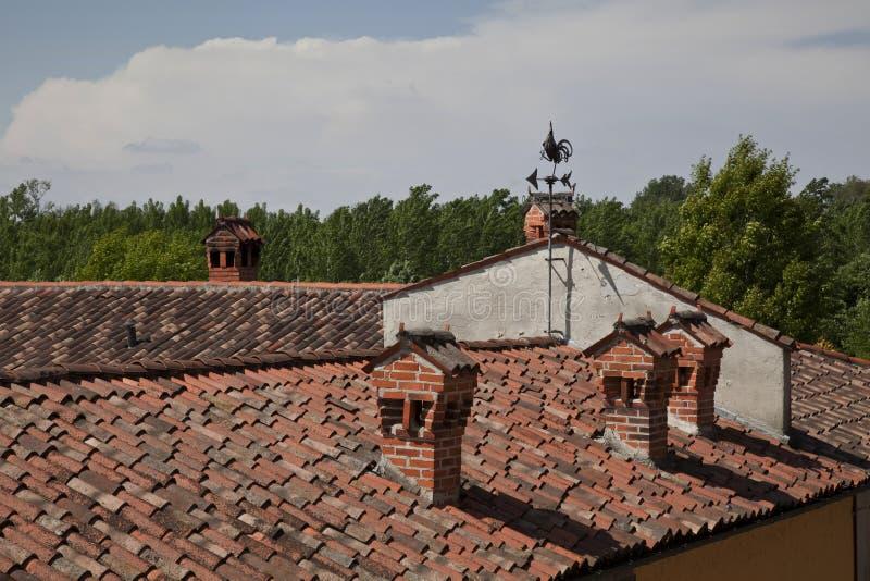 Download Weathervane on the roof stock image. Image of weathervane - 27899991