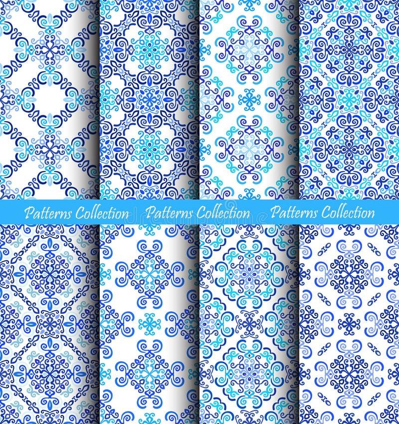 Weave делает по образцу голубые предпосылки иллюстрация штока