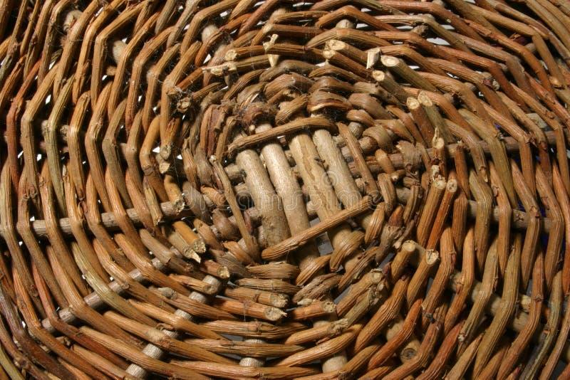 Weave корзины стоковая фотография rf