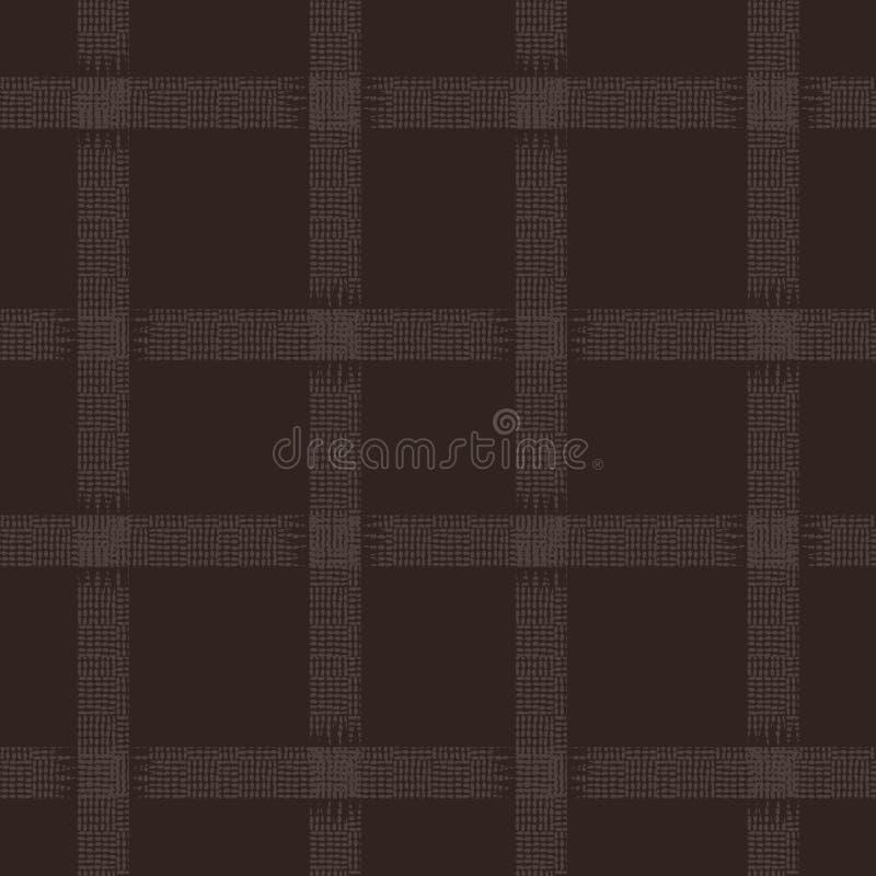 Weave basket or fence square grid design background royalty free illustration