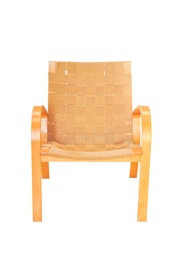 Download Weave Chair Isolated On White Stock Image - Image: 24585957