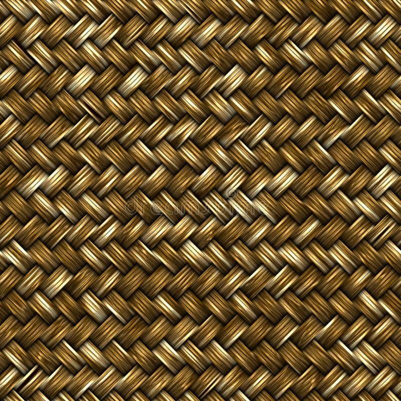Weave da fibra ilustração stock