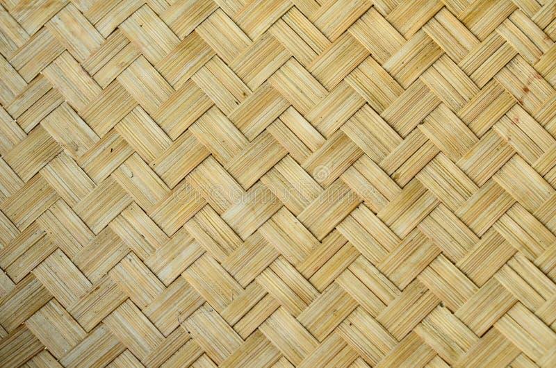 Weave de bambu ilustração royalty free