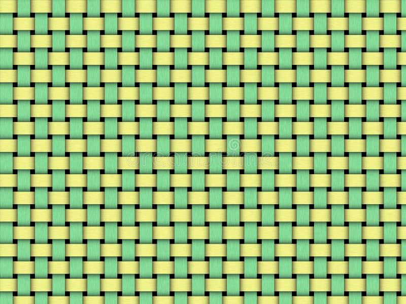 Weave de cesta ilustração do vetor