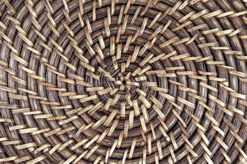 Weave de cesta foto de stock