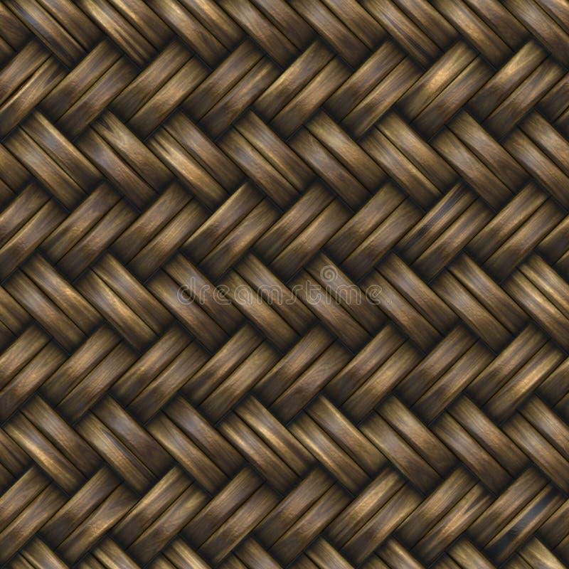 Weave de cesta ilustração royalty free