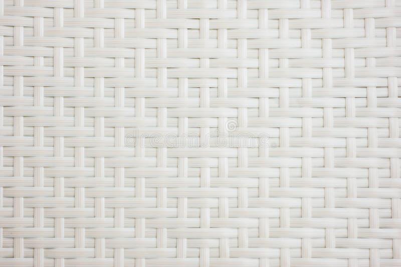 Weave de cesta branco ilustração do vetor