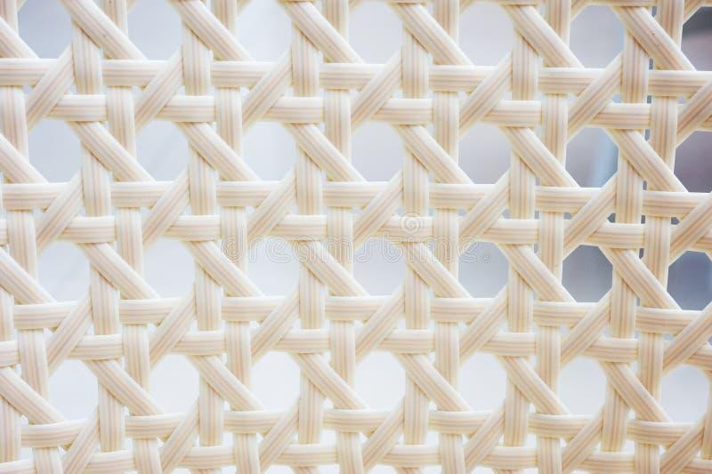 Weave de cesta branco ilustração stock