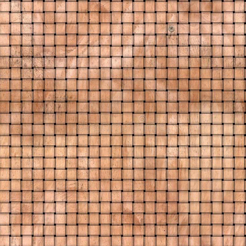 Weave de madeira ilustração stock
